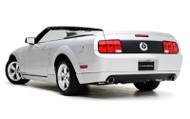 3d Carbon Rear Lower Skirt - Dual Exhaust 2005 - 2009 Mustang