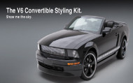 3d Carbon Ford Mustang Style Kits :: V6 Convertible 2005 - 2009