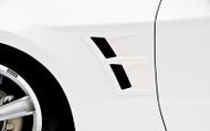 3d Carbon Front Fender Vents 2010-2014 Mustang