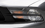 3D Carbon Headlight Splitters 2010-2014 Mustang
