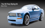 3D Carbon Ford Mustang Style Kits :: V6 Pony Package 2005-2009