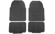 4-PIECE ALL WEATHER FLOOR MAT SET - BLACK (79-14 ALL)