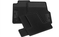 FORD RUBBER FLOOR MATS W/ PONY LOGO (05-09 ALL)