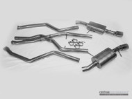 CP-e BMW 335i / xi Austenite™ 2.5″ Dual Cat Back Exhaust