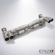 Enzo Performance Porsche 911 Turbo 997 X-Pipe Exhaust
