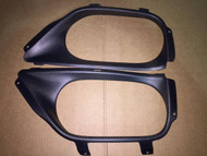 Agency-Power Nissan R35 GTR Matte Carbon Fiber Exhaust Surround