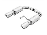 GMS Axle-Back Exhaust - Stainless 2015+ Ecoboost