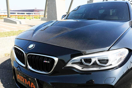 arma speed bmw m2 gts full carbon fiber hood. Black Bedroom Furniture Sets. Home Design Ideas