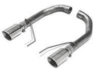 SLP Loudmouth Muffler Delete Axle-Back Exhaust - Fastback