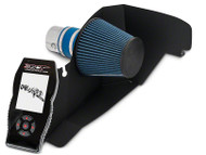 BBK Chrome Cold Air Intake & SCT X4 Tuner w/ Unleashed Tunes (15-17 EcoBoost)