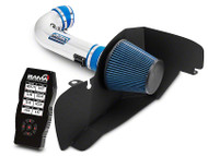 BBK Chrome Cold Air Intake & Bama X4 Tuner (15-17 GT)