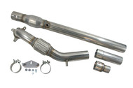 "USP Motorsports 3"" Stainless Steel 2.0T FSI/TSI Downpipe- Catted"