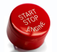 Red Start / Stop Engine Button for BMW 2,3,4,5,6,7 Series F Chassis w/ Auto Start Stop Function