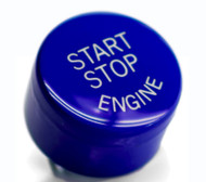 Blue Start / Stop Engine Button for BMW 2,3,4,5,6,7 Series F Chassis w/ Auto Start Stop Function