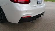Dinmann Carbon Fiber rear diffuser – BMW F22/F23