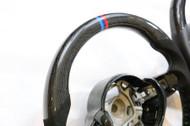 Dinmann Custom Carbon Fiber honeycomb Steering Wheel BMW F87M2 F80 M3 F82 F83 M4 2 3 AND 4 series with 650$ refund option