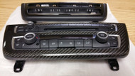 Dinmann BMW F80 F82 F83 F30 F31 F32 OEM STEREO TRIM REFINISHED IN CARBON FIBER