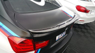 Dinmann Carbon Fiber Trunk Lip – BMW F80 M3 and 3 Series