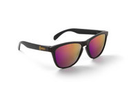 Polarized Solid Black / Purple