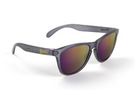 Polarized Frosted Gray / Purple