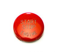 Red Start / Stop Engine Button for BMW 1, 3, 5, 6, X & Z Series E Chassis w/ Start Stop Button