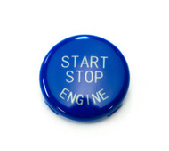Blue Start / Stop Engine Button for BMW 1, 3, 5, 6, X & Z Series E Chassis w/ Start Stop Button