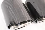 XPH 90mm Carbon Fiber Tips V2 BMW M3 M4