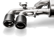 Akrapovic Tail pipe set (Carbon) BMW F90 M5