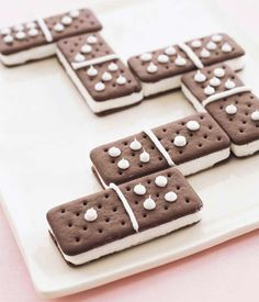 Domino Ice Cream Sandwiches