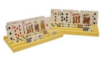 Domino Tile and Card Racks