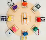 Eight player domino hub
