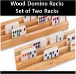 wood racks to organize your domino hand
