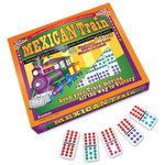 Puremco Mexican Train Dominoes with Dots