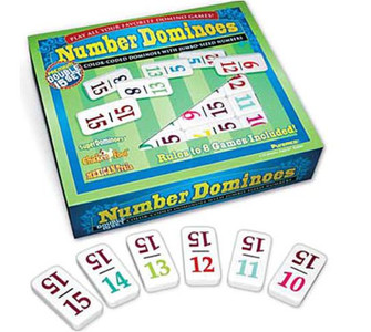 Double 15 Numbers Dominoes