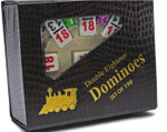 CHH double 18 numbered dominoes