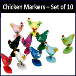 chickenfoot domino chicken markers