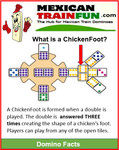How do you play Chickenfoot dominoes?