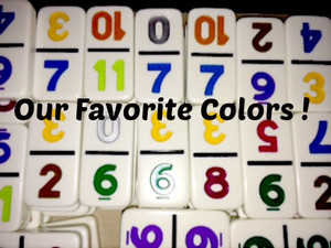 GREAT DOMINO COLORS !