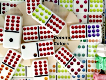 Dominoes Up close