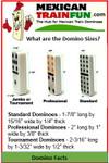 professional size domino