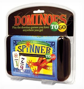 Spinner dominoes to go
