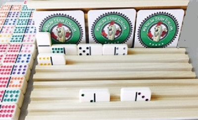 jumbo size domino tile racks