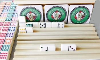 jumbo size domino tile racks