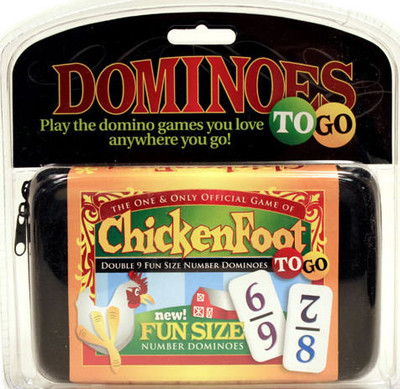 Chickenfoot dominoes to go