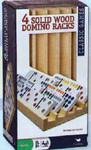 Chickenfoot dominoes wood racks