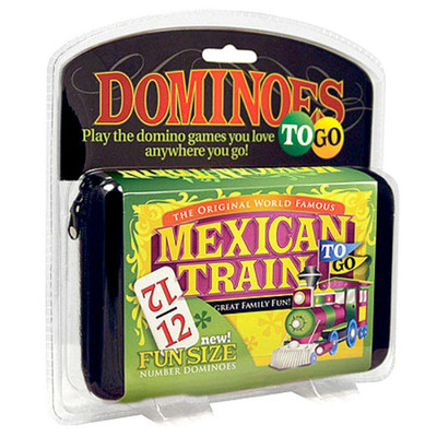 Mexican Train Fun Numbered Domino Train Set For Seniors
