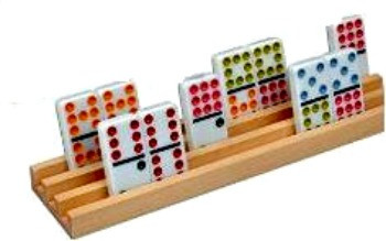 Wood Domino Racks