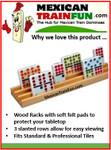 Wood domino racks CHH 2405