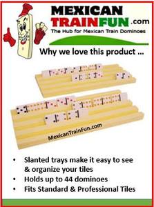 Plastic Domino Racks