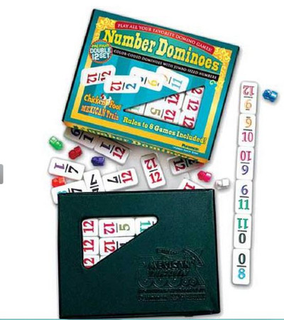 Puremco double 12 numbers dominoes